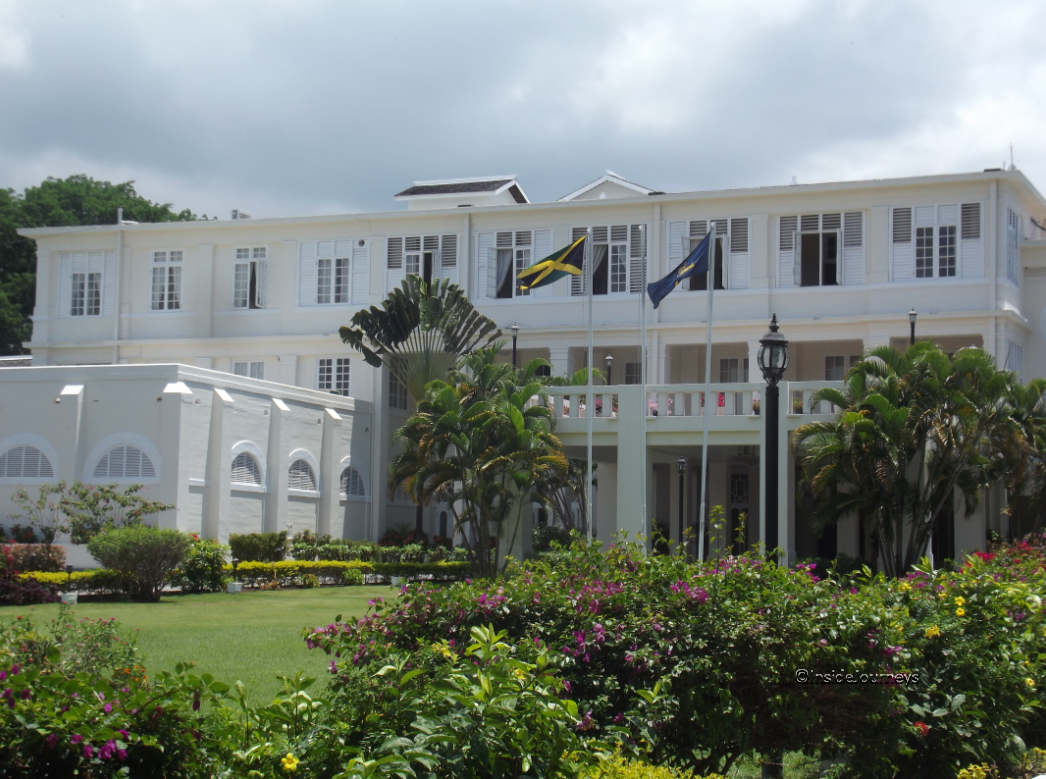 King's House external view - Jamaica