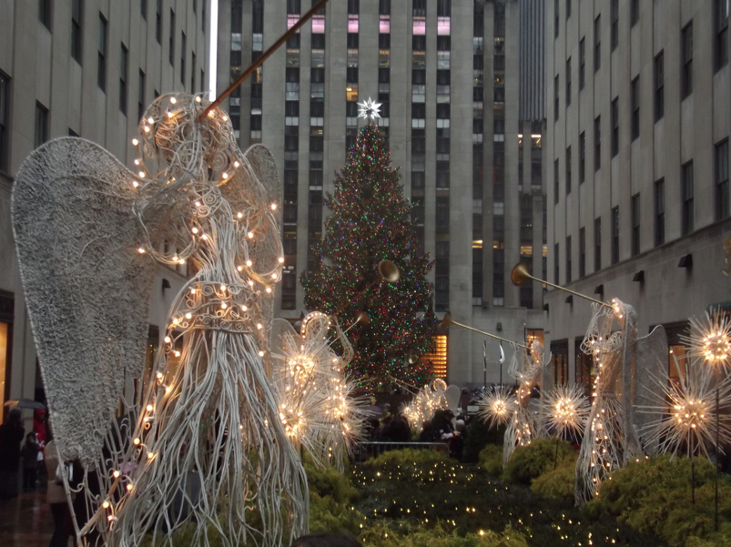 Agels Rockefeller Center Christmas decoration