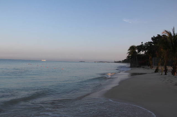 Sunrise over Negril Jamaica
