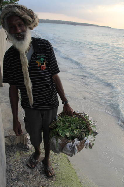 Herb vendor, Jamaica