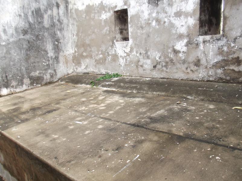 Prisoner bed at Hanover Museum Jamaica