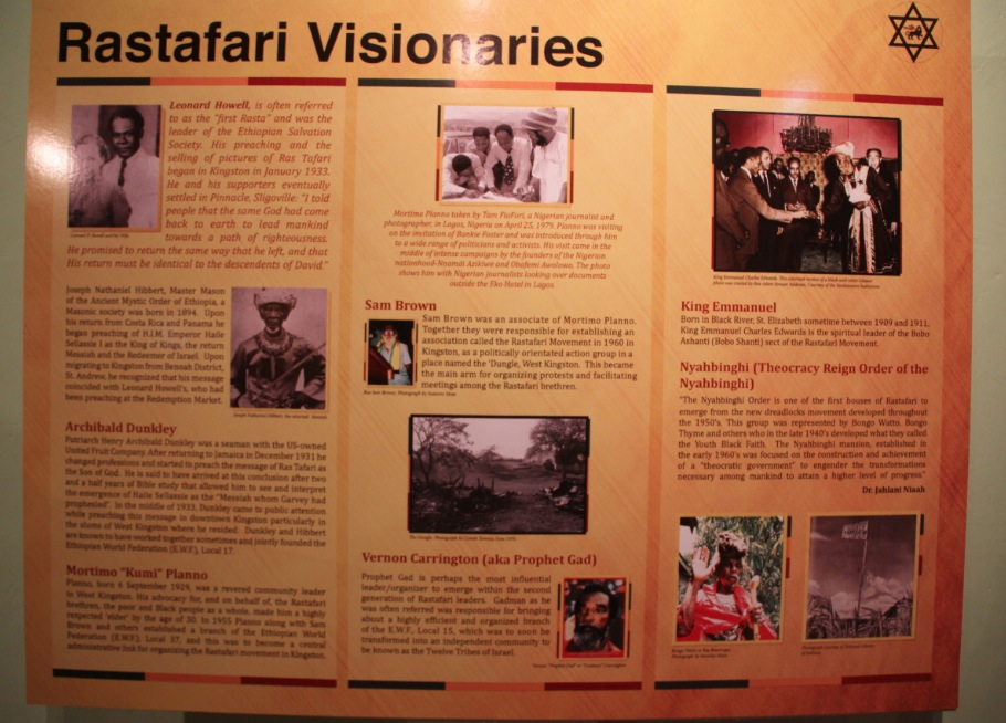 Rastafari Visionaries