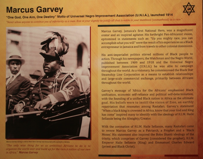 Rastafari Exhibition, Marcus Garvey