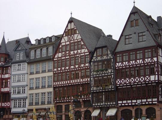 Frankfurt Houses by Konstantin Koll