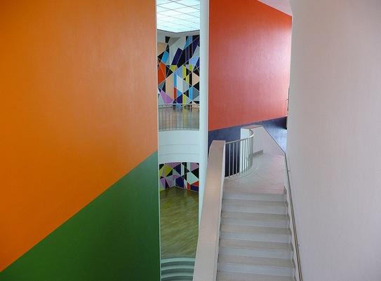 Frankfurt - Museum fur Moderne Kunst, Metro Centric