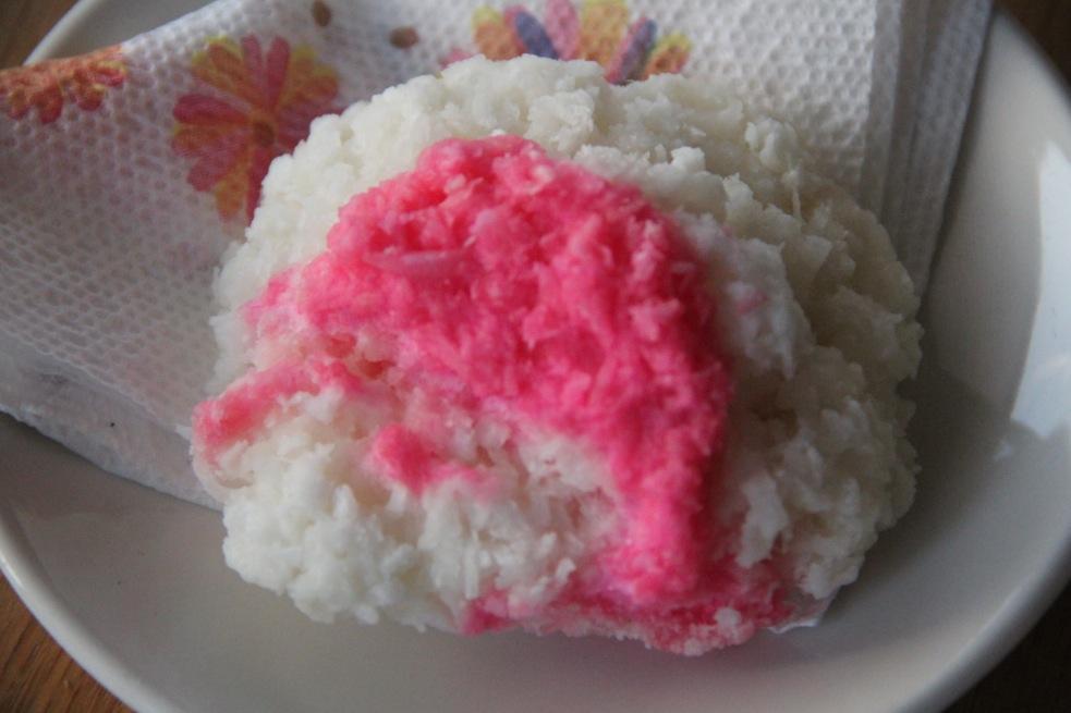 Pink & White Grater Cake